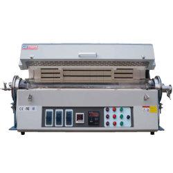 中国デスクトップ水平 1200c 熱処理 3 ゾーン分割チューブ 研究用炉