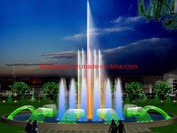 Nova piscina moda fabricados na China 304 de Aço Inoxidável Music fontes de água
