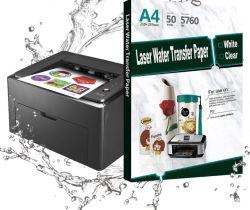 Fabrik direkt verkaufen A4 Laser-Wasserschiebeabziehbild Transfer Drucken Papier