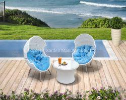 Classic avec patio extérieur tous les temps d'oeufs de l'espace Chat Paito Outdoor Accueil Jeu de meubles modernes de jardin