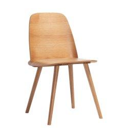 Retro curvo con legno compensato tavolo da pranzo sedia in legno di Bentwood