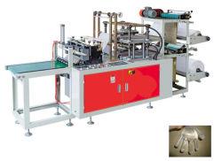 En PEHD en plastique jetables en PEBD PE Glove Making Machine