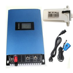MPPTの振幅制限器またはWiFiの任意選択網または電話APPオンラインモニタが付いている純粋な正弦波の格子タイインバーター1000With2000W