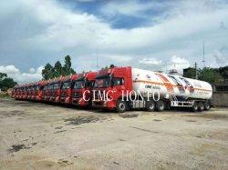 CIMC Enric 52,6m3 ASME GB LNG-transport van vloeibaar aardgas Semi-trailer voor Colombia