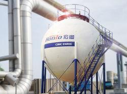 Servicio de depósito de la esfera de gas EPC 1500 Proyecto 2000 3000toneladas tanque de almacenamiento de gas propano planta