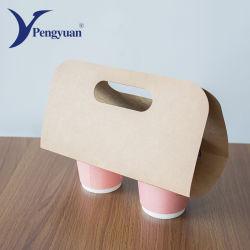 Jetables détenteur de la tasse de café de papier ondulé