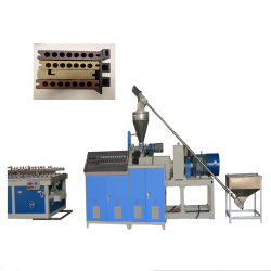 PVC PP PE بلاستيك الخشب WPC ملف تعريف المركب أحادي مزدوج آلات صنع خط إنتاج الطرد اللولبي