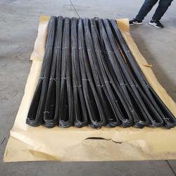 3.2 mm negro recocido alambre de hierro U tipo 3,2 mm 25 kg un rollo