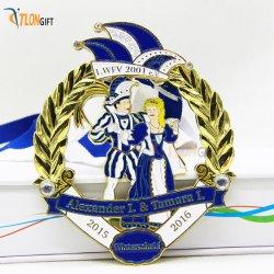 Цинкового сплава литой индивидуальные Gold-Like полой и памятные медали