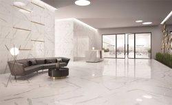 Les matériaux de construction de marbre Polised carrelage de sol en porcelaine de copie
