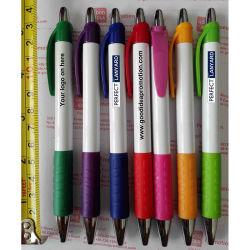 Publicidad Bolígrafo de plástico con Logo, regalo promocional Bolígrafo