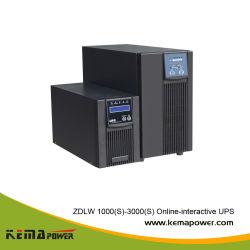 إمداد طاقة UPS عبر الإنترنت عالي التردد بقدرة 1 كيلوفولت أمبير 2 كيلوفولت أمبير 3 كيلوفولت أمبير