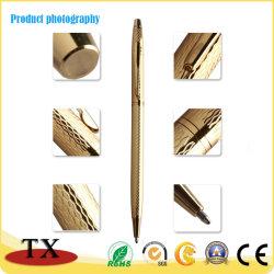 Haut de luxe Quanlity métal stylo à bille d'or pour les entreprises Don Pen