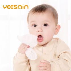 fornitore bagnato del Wipe della mano EPA di 100%Biodegradable Flushable del singolo dell'acqua bambino di bambù organico pulito a gettare del cotone