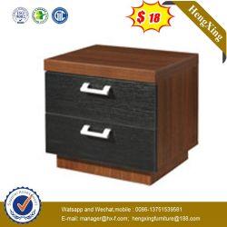 Governo di legno del MDF di modo dell'hotel della camera da letto della mobilia del basamento di piccola dimensione di notte con i cassetti (HX-WL037)