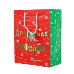 공장 판촉 인쇄 선물 크리스마스 쇼핑 종이 가방
