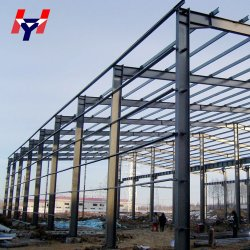 Qingdao Long industrielle Span galvanisé Structure en acier de construction Fabrication PEB