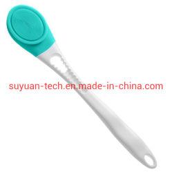 Junta de silicona resistente al agua de la vibración acústica de mango largo instrumento roce masaje eléctrico
