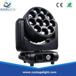 12×40 واط، ضوء الرأس المتحرك، 4×1، Wam Zoom Wash LED