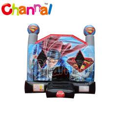 Goedkope Rubberboten Superhero Castle for Kids Rubberboten Bounce House