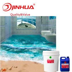 Freies Epoxidharz für Lack des Fußboden-3D