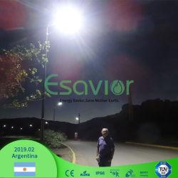 Integriertes Solar-LED Straßenlaternedes hohen des Lampen-Lumen-195lm/W 10W umweltfreundlichen Solarstraßen-Licht-mit Bewegungs-Fühler