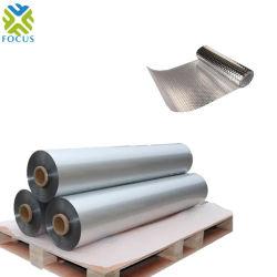 El papel de aluminio laminado de la película de PET metalizado agravado con la película de LDPE
