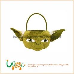 Juguetes de peluche Yoda Canasta de caramelo suave Peluche de Regalo de Pascua