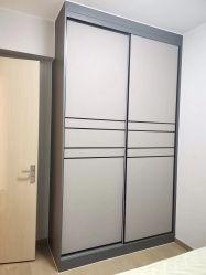 Nuovo Design Mobili colore personalizzato alluminio alluminio estruso finestra in alluminio Finestrini a scomparsa del tettuccio pieghevole con casseazione scorrevole