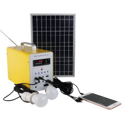 Портативные DC 10W 20W 25W 30W 50W 80W солнечной системы питания генератора малых аккумуляторов индикатор Home Lighting солнечной системы питания