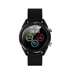 """2019 acier inoxydable étanche IPX populaire68 1,54"""" rond à écran couleur de regarder l'écran HD verre trempé de téléphone mobile Bluetooth Watch"""