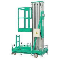 Elevación hidráulica de alta seguridad de la plataforma de trabajo para la recogida