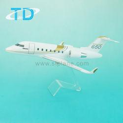 A Bombardier 650 650 C-650 Challenger Modelo de Aeronave privada de resina