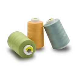 高品質のファイバー材料100%年のポリエステル縫う糸