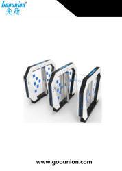 Les tourniquets barrière de sécurité Contrôle d'accès à rabat avec lecteur de code QR (G346-23)