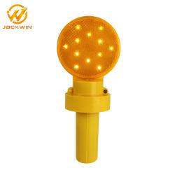Hohe Leistung Battery Operated Flashing Traffic Cone Light mit Handle