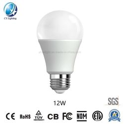 Lampe LED Hot-Sale E27/B22 A60 85-265V 12W 6500K SMD2835 Ce RoHS ampoules LED