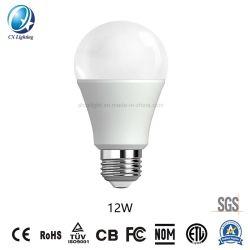 Lâmpada LED Hot-Sale E27/B22 A60 12W 85-265V 6500K2835 SMD Marcação RoHS lâmpadas LED