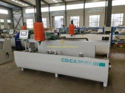 Janela de alumínio CNC Máquina para fresar ranhuras nos orifícios de perfuração