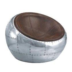 Presidenza di alluminio di svago del cuoio delle feci della presidenza della sfera del coperchio di modo