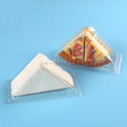 Venda por grosso de plástico do cilindro clara Caixa de bolo de Recipiente para armazenamento de alimentos transparente