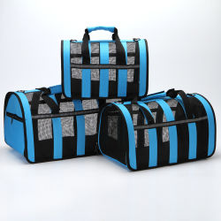 Groothandel Customize Popular Pet Products Levering Fashion Dog Carrier Cat Ademende rugzak voor honden, opvouwbare dierendrager