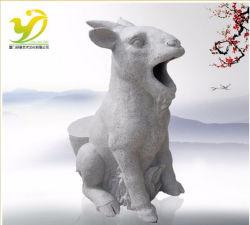 Yj-Ljt-012Сделано в Китае торжественному овец корзины, при распылении краски из гранита по каменной резьбы Ландшафтная архитектура сада ремесла