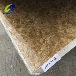 Tegels van de Ontwerpen van het Blad van de pvc- Raad de UV Marmeren Nieuwe voor de Muur of de Vloer van het Huis