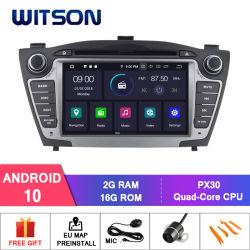 Giocatore di Bluetooth dell'autoradio del Android 10 di Witson per multimedia 2010-2013 di GPS del veicolo della Hyundai IX35 le audio
