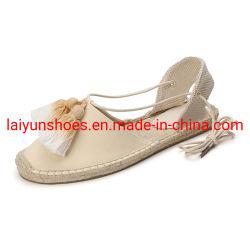 أحذية بتصميم جديد مصنوعة يدويًا أحذية عادية أحذية إسبادريل مواد علوية مساحة الشاشة