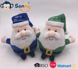 Оптовая торговля Китая на заводе музыкальный светодиодного освещения Xmas шикарные Санта-детей в подарок