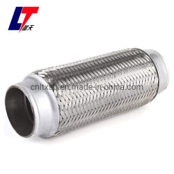 El escape del motor del tubo flexible de escape de acero inoxidable