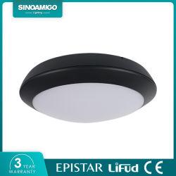 Sinoamigo IP66 LED redondos da Lâmpada de Teto Emergência Luz de Teto com sensor de microondas