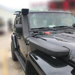 Carro preto Wader Snorkel para Jeep Wrangler Jl acessórios para automóvel